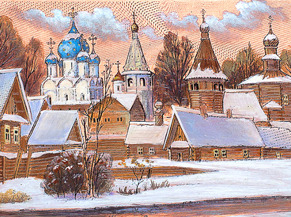 Suzdal, view from the river