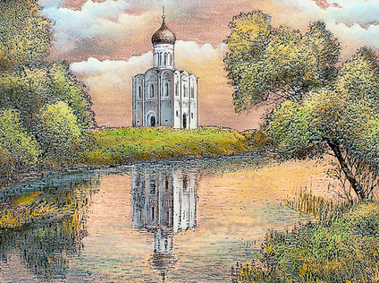 Church of the Intercession on the river Nerl, Vladimir