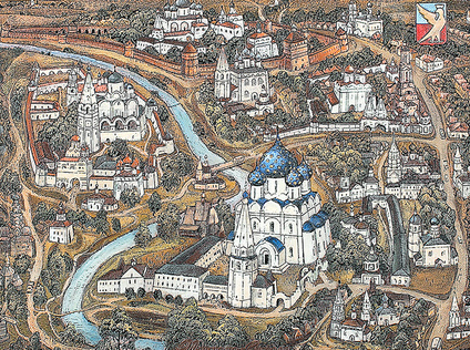 Panorama of Suzdal
